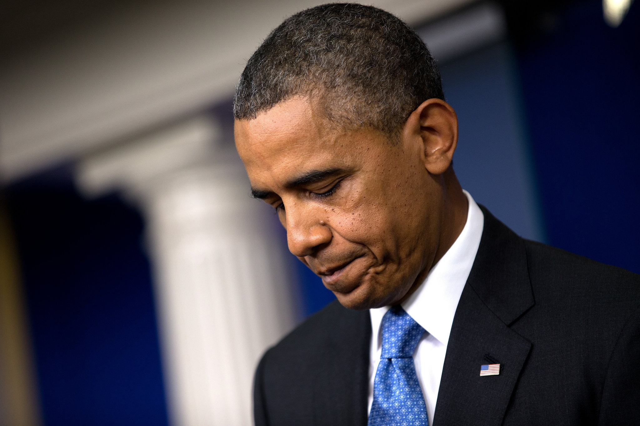 Barack Obama ya no goza de la credibilidad de los estadounidenses. Foto:graphics8.nytimes.com