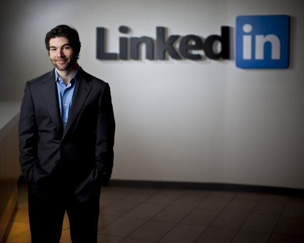 Jeff Weiner, CEO de Linkedin Foto:cdn.ientry.com
