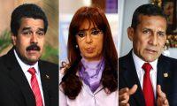 Maduro, Cristina y Humala, los mandatarios más impopulares de Latinoamérica