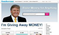 Donald Trump crea una copia de Kickstarter, pero para las masas