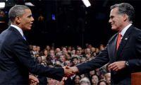 Obama, cara a cara con Romney por primera vez luego de las elecciones
