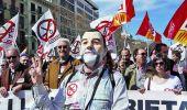 Masivas movilizaciones en España