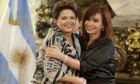Cristina Kirchner y Dilma Rousseff avanzarán en acuerdos económicos