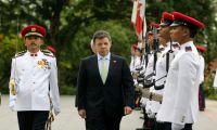 Juan Manuel Santos considera TLC con China