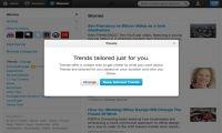Twitter personaliza los Trending Topics