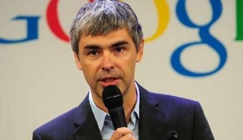 Larry Page, CEO de Google. Foto:abcnews