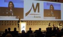 Maritza Adasme Cifuentes, de Oracle durante su intervención en el HCF Argentina 2014. Foto: Management Journal