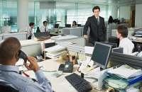 Los espacios de trabajo abiertos causan interrupciones que afectan la concentración del trabajador; esto se suma a lugares más pequeños y distracciones como mensajes de correo y llamadas. Foto:10decoracion.com