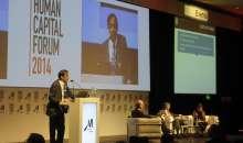 Gustavo Verna, CEO de Philips Argentina durante su intervención el el HCF Argentina 2014. Foto:Management Journal