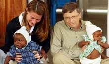 Bill Gates aseguró en Foro Económico Mundial de Davos que en el año 2035 practicamente no habrá pobreza en el mundo. Foto:minutouno.com