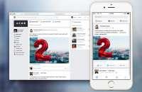 Facebook At Work ofrece a los empleados de una empresa la posibilidad de conectarse y colaborar utilizando las herramientas de Facebook, muchas de las cuales es probable que ya estén utilizando en su perfil personal. Foto:trecebits