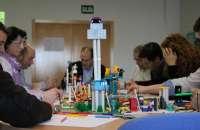Los clásicos bloques plásticos de la firma danesa Lego ahora se usan para favorecer la creatividad y resolver problemas en las oficinas. Foto:einclusion.si.ctic.es