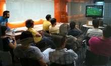 El Mundial es un momento ideal para generar vínculos entre la empresa y su gente. Foto:launion.com.ar