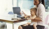 Las mujeres con hijos son  más productivas en el trabajo